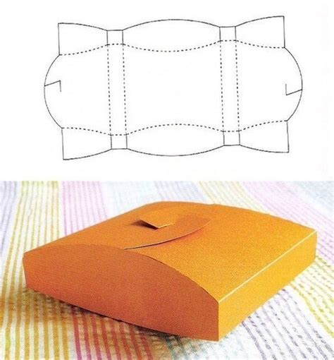Origami Gift Box Template - box pattern01 jpg box template box