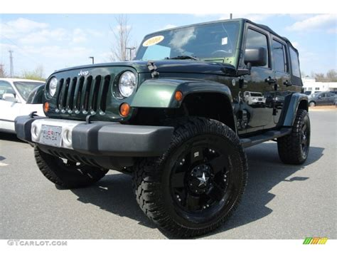 dark green jeep wrangler unlimited 2010 natural green pearl jeep wrangler unlimited sahara