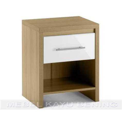 design nakas minimalis nakas kayu jati model minimalis camelia 1 laci