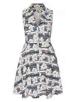 Op5281 Dress Collar Motif Dress Maxi Dress Kode Bimb5758 2 yumi floral motif print shirt dress multi coloured house