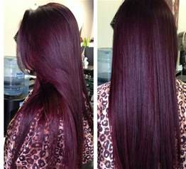 burgandy hair color hairdo shades of burgundy and hair trends for