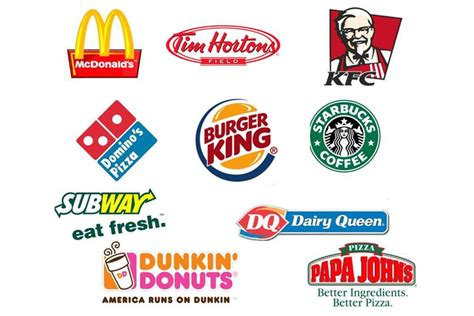 top food brands what are the top fast food brands