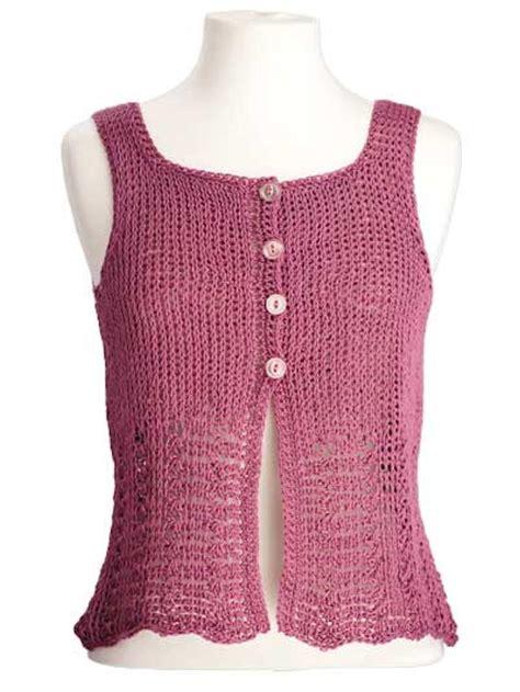 Blouse Prime Jumbo Elisa Sleeveless Crochet Top Allfreecrochet