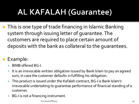 Letter Of Guarantee In Islamic Bank Chapter 6 Islamic Banking 2