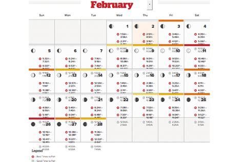 Lunar Fishing Calendar Solunar Fishing Calendar 2018 Flying Fish 1001