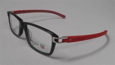 tag heuer th 7601 004 s 55 track eyeglasses black rx