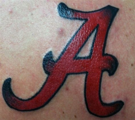 alabama tattoos designs 28 best crimson tide tattoos images on alabama