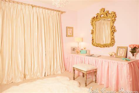 Luxury Nursery Decor Ivory Pink S Nursery By Crown Interiors