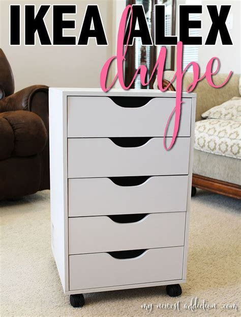 recollections 5 drawer cube michaels diy ikea alex vanity blushing in hollywood