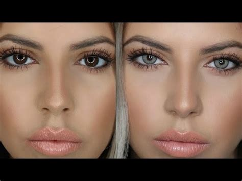 solotica coloured contact lenses for brown eyes in quar