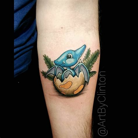 pterodactyl tattoo can t go wrong with a dinosaur