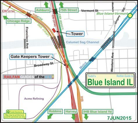 Detox In Blue Island Il by Chicago Il Railfan Guide Crossings