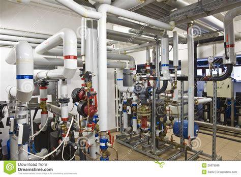 how to heat your room heat exchanger plant stock photo image of metal equipment 28678998