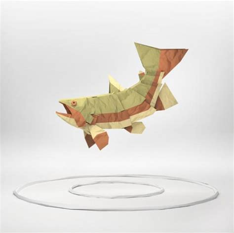 How To Make 3d Paper Animals - 3d paper sculptures by kool