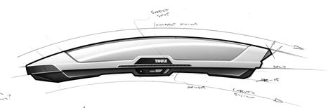 box auto thule thule presents the stylish and spacious thule motion xt