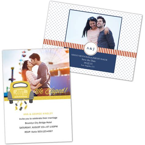 Walmart Wedding Gift Card - personalized wedding invitations photo greeting cards walmart com