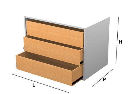 cassetti in kit kit cassetti per moduli su misura