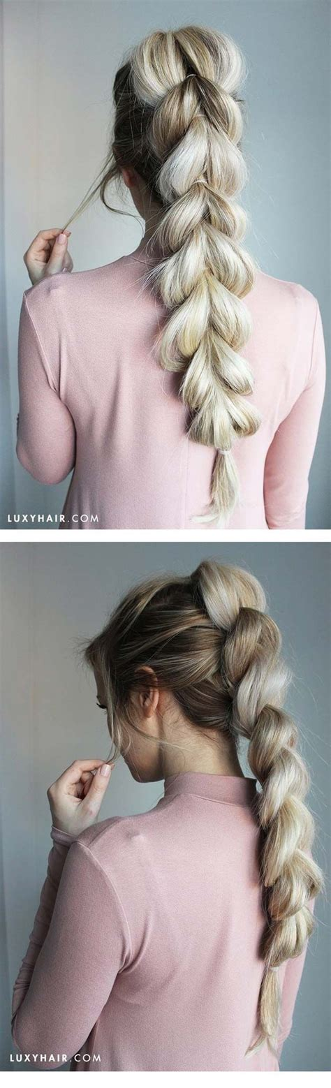7 Steps To Fabulous Winter Hair by Best 25 Hair Looks Ideas On How To Braid Hair