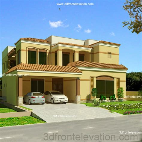 home design ideas in pakistan 3d front elevation com valencia 1 2 kanal house in