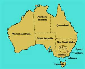 Canberra World Map by Where Is Canberra In Australia Map
