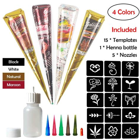 henna for tattoo amazon stencils for henna tattoos 10 sheets self