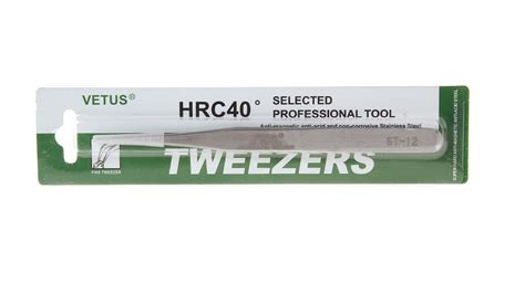 Vetus Tweezer Hrc40 Esd 12 Ujung 1mm Tweezer By Vetus Authentic 1 58 vetus stainless steel tweezers hrc40 176 at fasttech worldwide free shipping