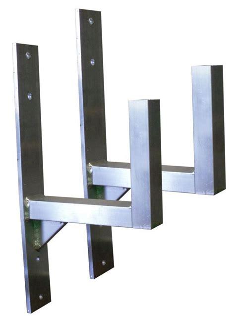 Side Ladder Rack by Trailer Ladder Racks Side Mount Pair Mirage Trailer Parts