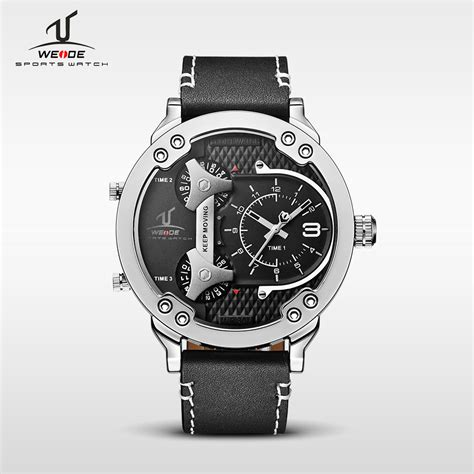 Weide Universe Series Three Time Zone 30m Water Resistance Uv1506 Blac weide universe series three time zone 30m water resistance