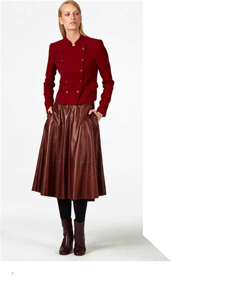 18 ways how to wear leather skirts this winter 2018