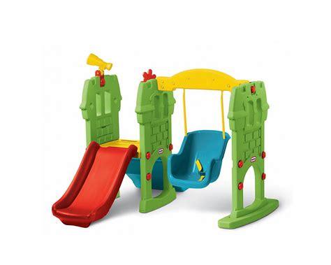 Sewa Mainan Olahraga Anak Tikes Troline sewa mainan perosotan dan ayunan anak tikes swing along castle slide surabaya jual