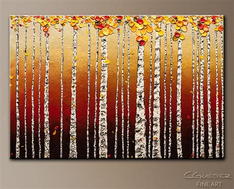 modern home decor abstract tree painting birch trees wall art designs birch tree wall art abstract art