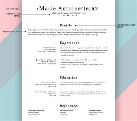 What Font Should I Use For My Resume by What Font Should I Use For My Resume Resume Ideas