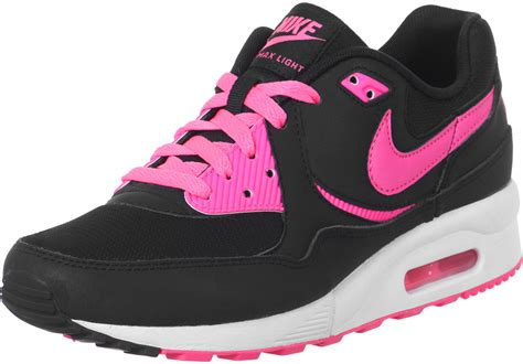 light pink nike air max nike air max light gs schuhe schwarz pink