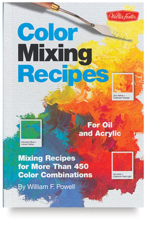 color mixing recipes for and acrylic blick materials