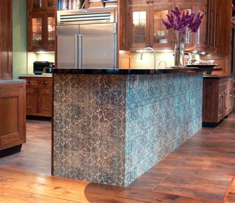 Kitchen Island Tile A Tiled Kitchen Island Cultivate Island Time