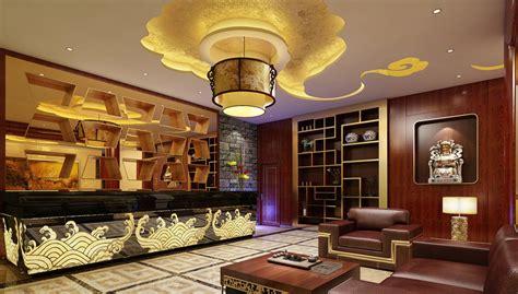 hotel front desk meeting topics restaurant reception room and front desk design rendering