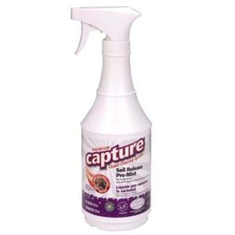 upholstery cleaner home depot capture 24 oz carpet and upholstery cleaner 12 pack