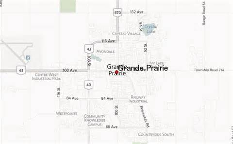 grande prairie location guide