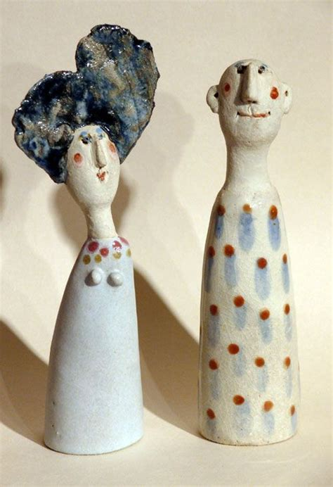 ceramics white ceramics and bags on pinterest love jane muir s quirky figures paper clay art