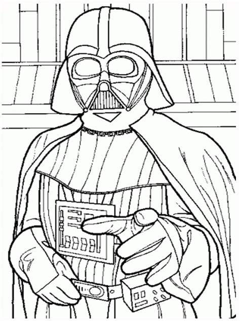 printable coloring pages darth vader free printable wars coloring pages free printable