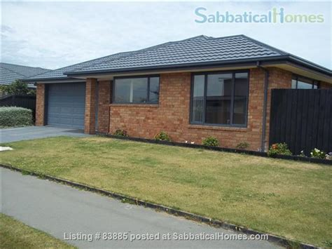 sabbaticalhomes christchurch new zealand house for