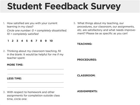 improving teaching with expert feedback from students