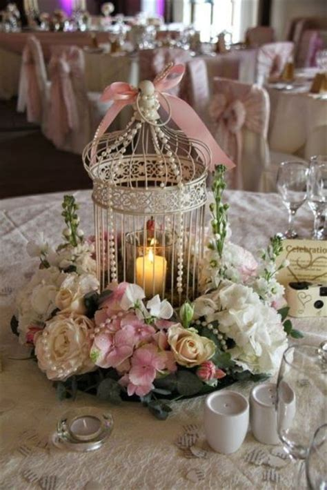 22 Romantic Ideas To Incorporate Birdcages Into Your Birdcage Centerpieces Weddings