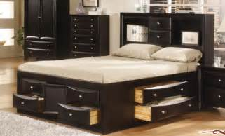 Size Bed Frames With Storage Drawers 15 Current Designs Of Size Bed Frame With Drawers
