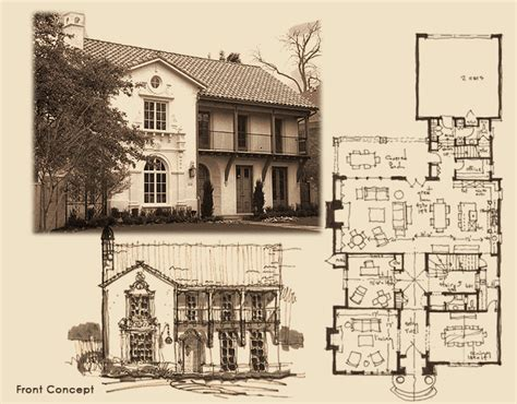 spanish colonial house plans spanish colonial house plans