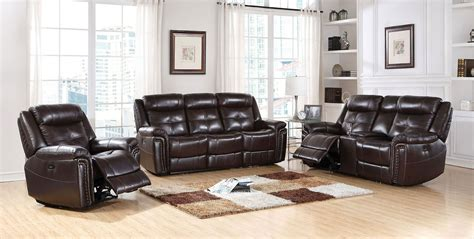 reclining living room furniture sets power reclining living room set acme furniture