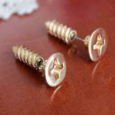 Get The Look Fergies Cool Earrings by Earphones Studs Cool Earrings Costume