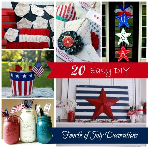 fourth of july diy 20 easy diy fourth of july decorations estes