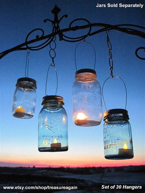 mason jar candle lights 30 candle lantern lids diy