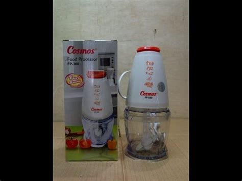 food processor cosmos fp 300 unboxing